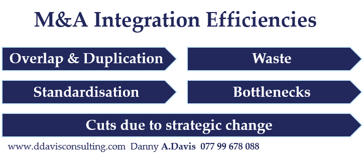 M&A Integration Efficiencies Plans