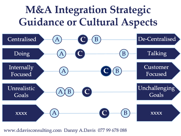 M&A Integration Strategic Guidance or Cultural Aspects
