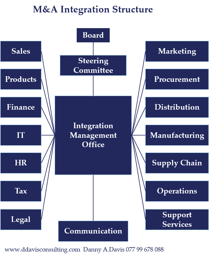 M&A Integration Structure